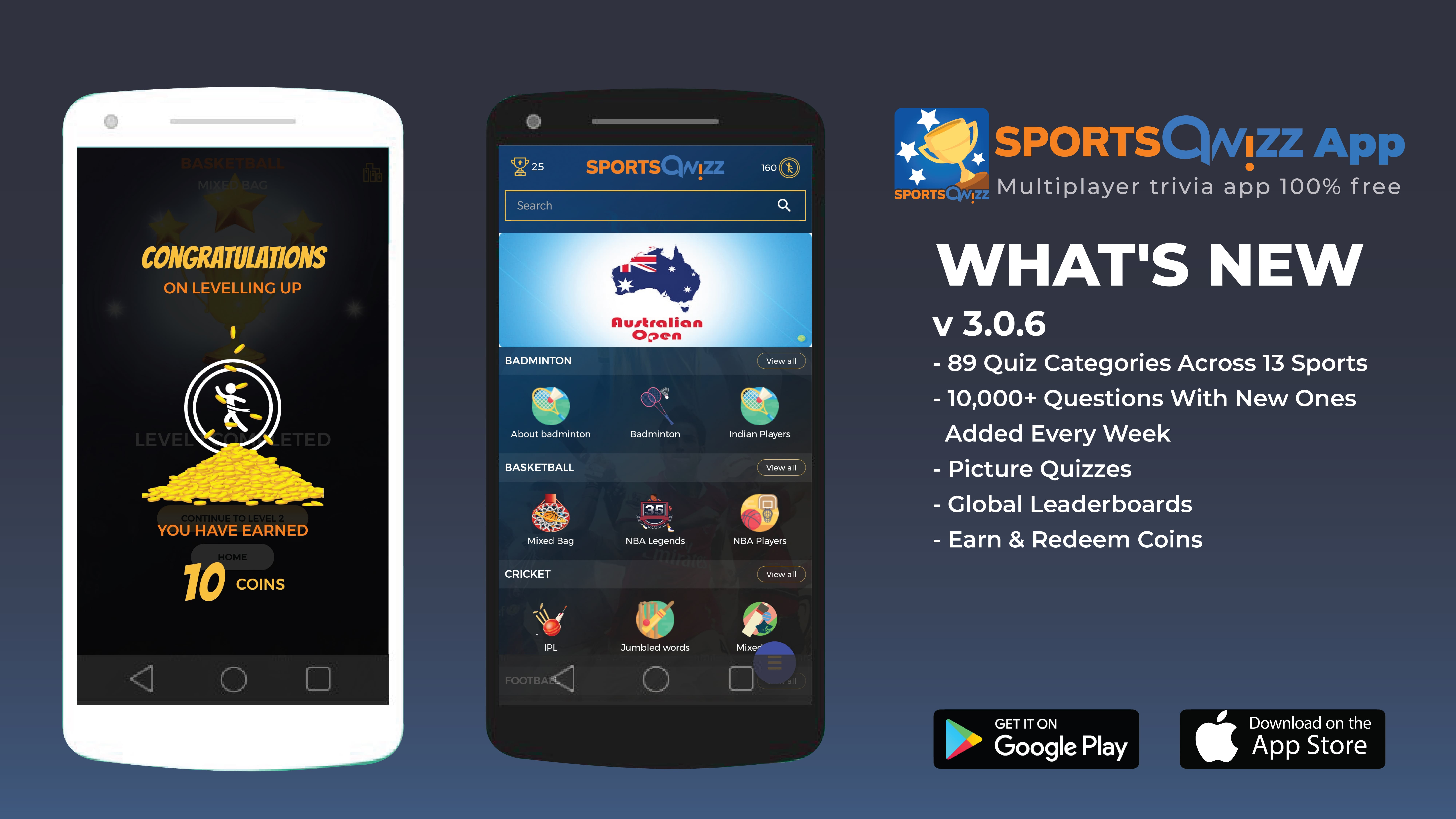 How about testing out your Sports Trivia an Online Trivia Games Multiplayer ?